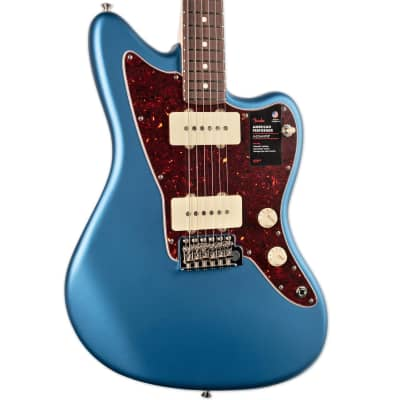 FENDER AMERICAN PERFORMER JAZZMASTER ROSEWOOD FINGERBOARD SATIN LAKE PLACID BLUE for sale