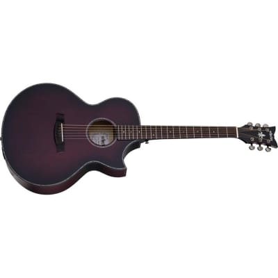 Schecter Orleans Stage Acoustic, Vampyre Red Burst Satin for sale