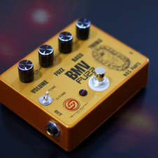 BMV Fuzz Guitar Boutique  Pedal Super Limited Edition Only NOS Parts germanium  TSL Studio Equipment