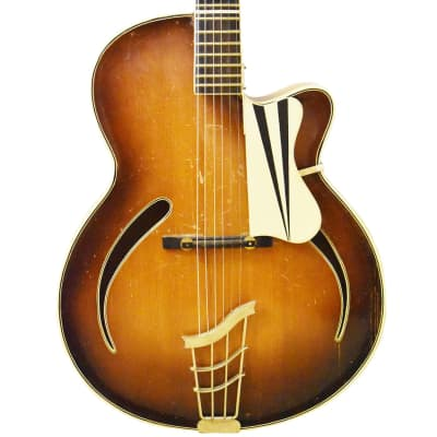 Arnold Hoyer Archtop Jazz Hollowbody Guitar 1954 for sale
