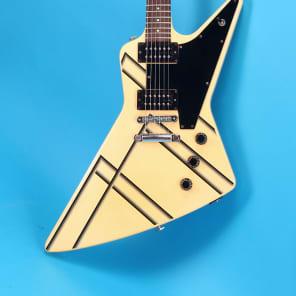 Gibson Explorer Designer Series 1984 White With Stripes for sale
