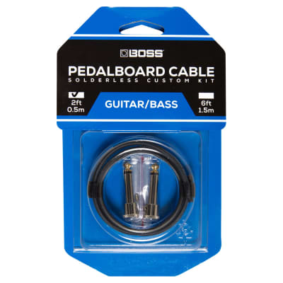New Boss Bck 2 Solderless Pedalboard Cable Kit
