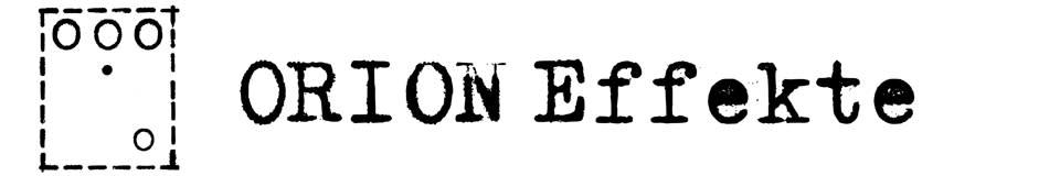ORION Effekte Onlinestore