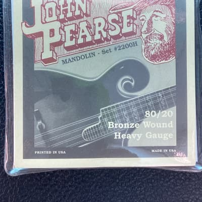 John Pearce 2200H Mandolin String Set