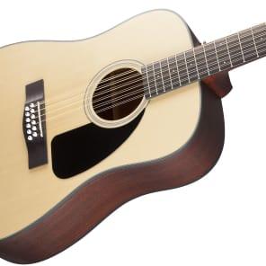 Fender CD-100 12-String Spruce/Mahogany Dreadnought Natural