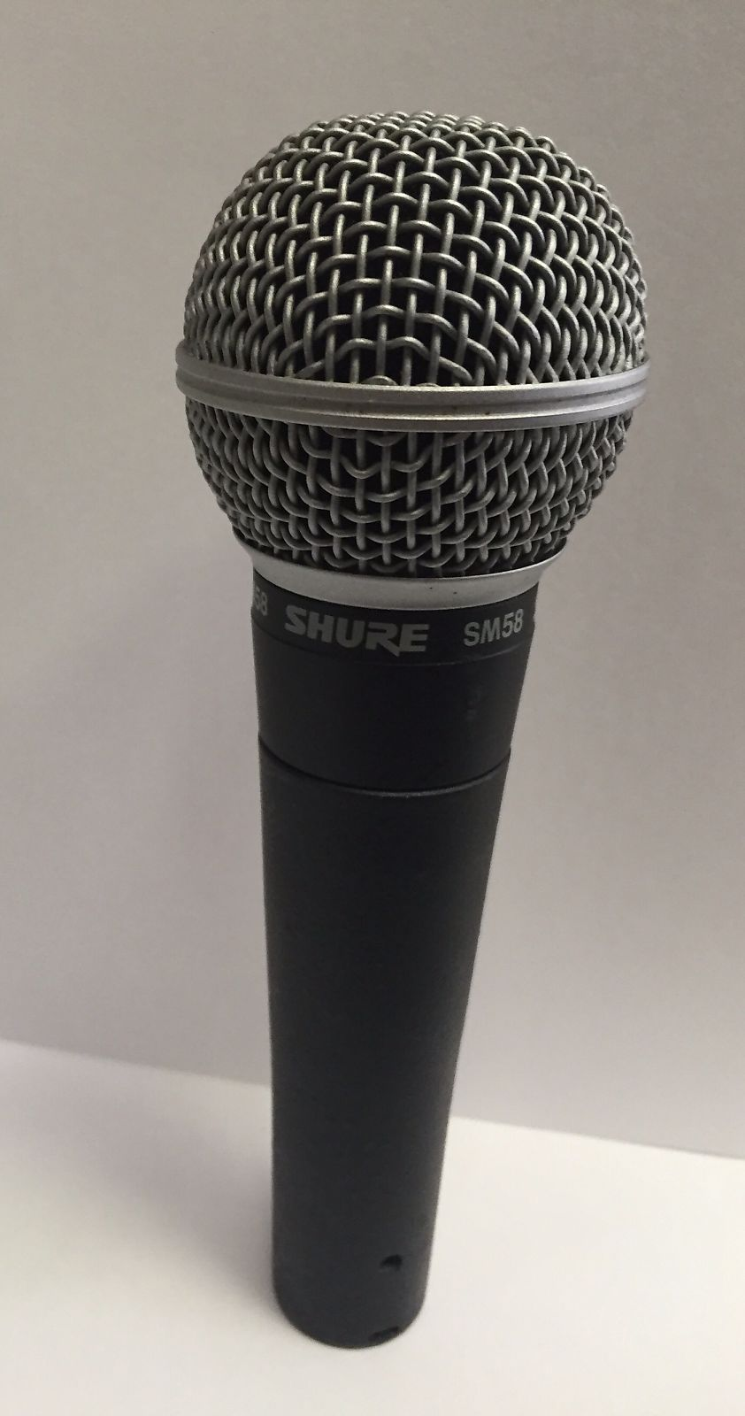 Used Shure SM58 Grey
