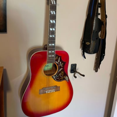 Estrada 12 string acoustic 60's sunburst for sale