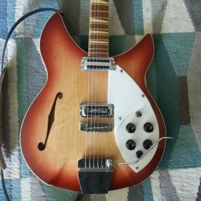 Rickenbacker 360 O.S. Rose Morris Custom 1967 Fireglo for sale