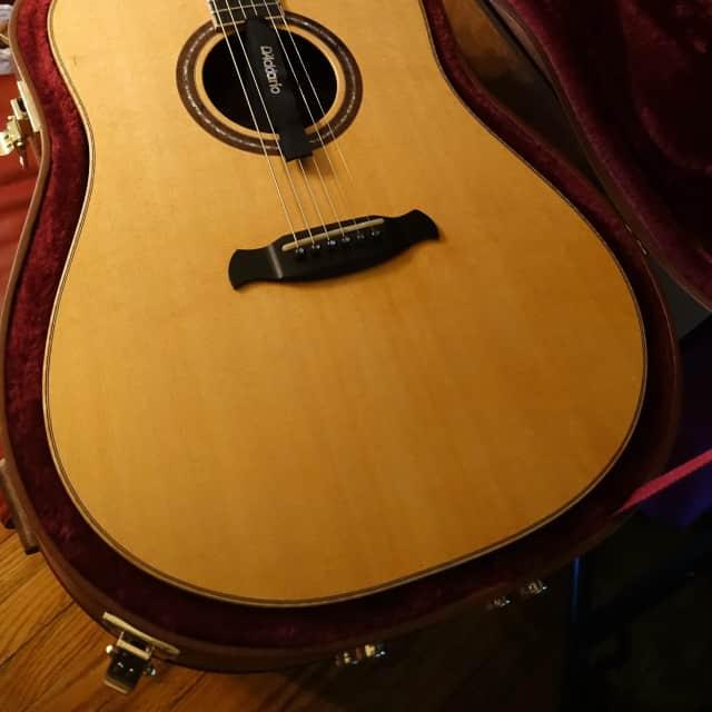 Ballentine Acoustic Dread/Bubinga/Sitka 2016 Natural image