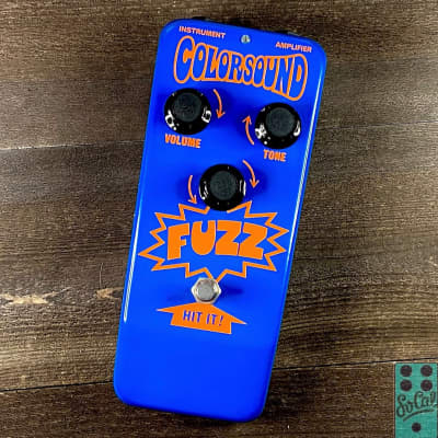 """Sola Sound Colorsound Fuzz Limited Run """"Orange on Blue"""" by D*A*M! for sale"""
