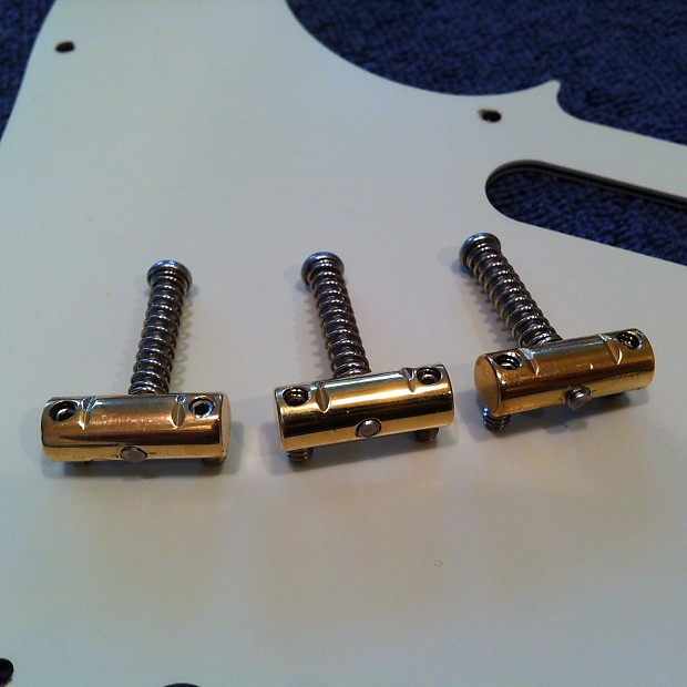Rutters Brass Straight Compensated Saddles | Eric's Boutique