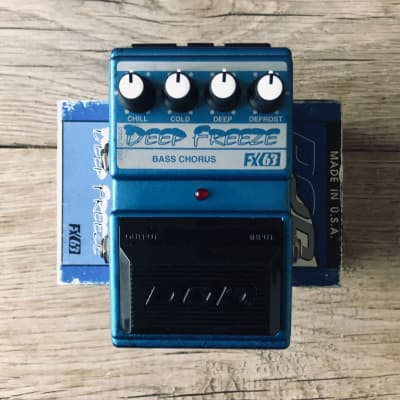 DOD Deep Freeze FX63  Bass Chorus with Box - First Run for sale