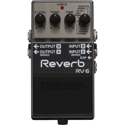 Boss RV6 Digital Reverb Pedal for sale