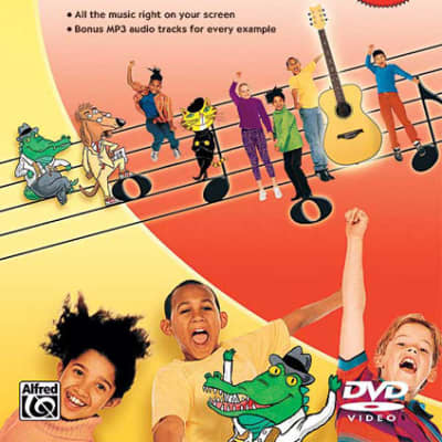 Alfred's Kids Guitar Course DVD