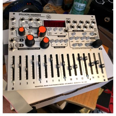 Industrial Music Electronics The Harvestman Stillson Hammer MKII model HM1974-2