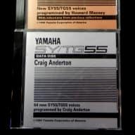 Yamaha SY/TG55 Data Disks 1990-91