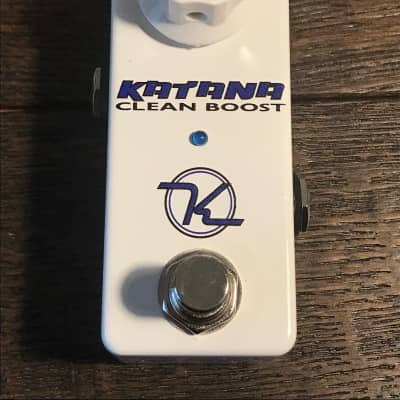 Pre-Owned Keeley Katana Mini Clean Boost Guitar Effect Pedal Used