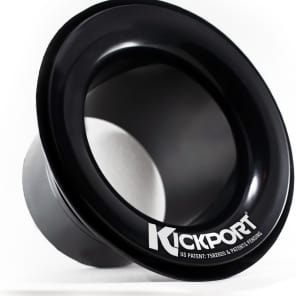 KickPort DSKP2BL Kickport 2 Bass Drum Sonic Enhancement Port Insert