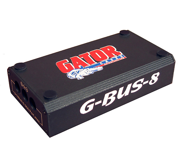 gator cases g bus 8 us regulated 9v 1700 milliamp and pedals reverb. Black Bedroom Furniture Sets. Home Design Ideas
