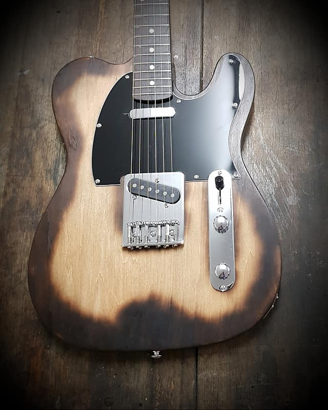 JH Guitars (Made in Australia) 2018 Scorched tele telecaster fender