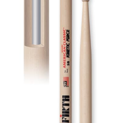 Vic Firth 5BKF 1 Pair of American Classic Kinetic Force 5B Drumsticks