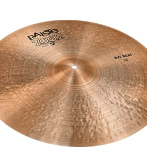 "Paiste 18"" 2002 Black Big Beat Cymbal"