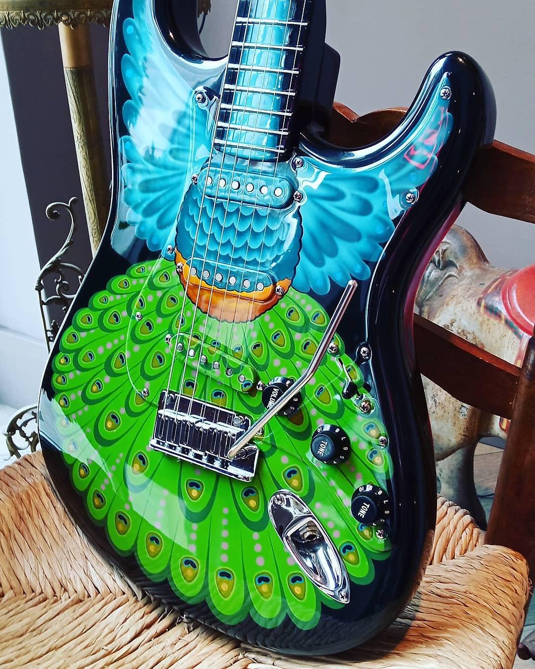 Proud Pamelina Fender Custom Shop Stratocaster