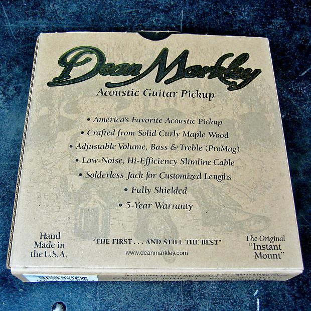 Dean Markley ProMag Gold Acoustic Guitar Humbucking Pickup