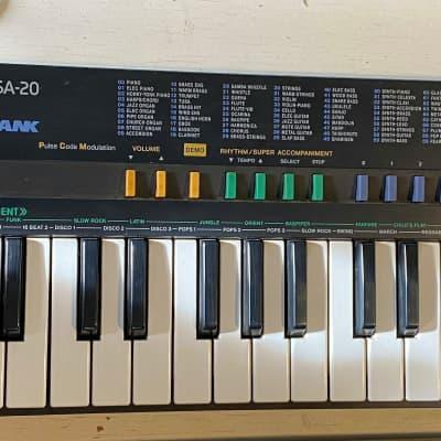 Casio SA-20 90s Digital Retro Toy Synth Wham Demo Song
