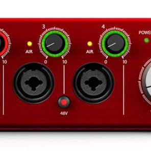 Focusrite Clarett 4Pre Thunderbolt Audio Interface