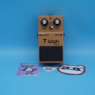 Boss TW-1 Touch Wah Pedal | Rare 1982 (Made in Japan) | Fast Shipping!
