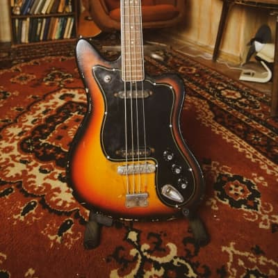 MUSIMA DE LUXE 25 Vintage GUITAR JAZZ MASTER JAGUAR Bass RARE DDR GDR USSR Relic for sale