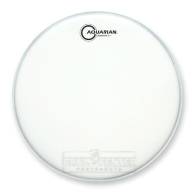 Aquarian Snare/Tom Heads : Texture Coated Response 2 Drumhead 10