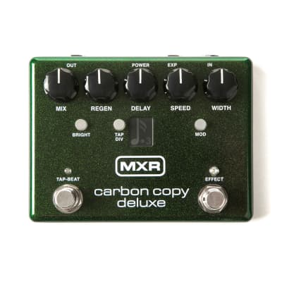 MXR M292 Carbon Copy Deluxe Delay Pedal