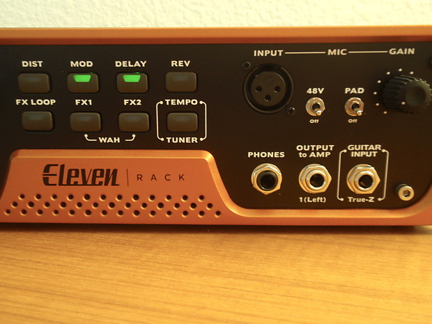Eleven Rack Effects Processor With Expansion Pack