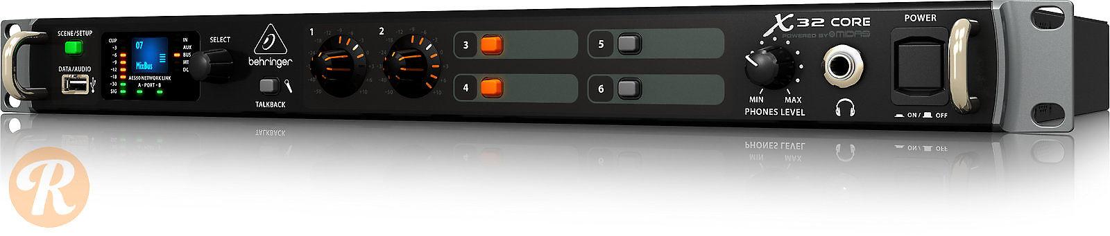 behringer x32 core 25 bus rackmount digital mixer reverb. Black Bedroom Furniture Sets. Home Design Ideas