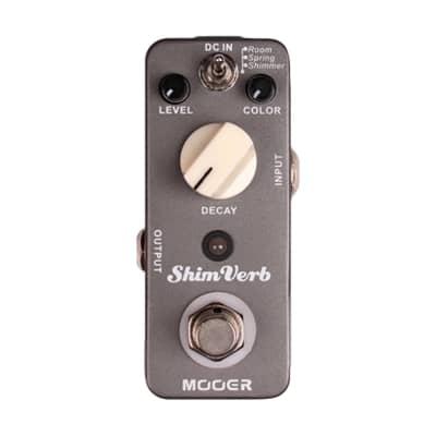Mooer Shim Verb Digital Reverb Effect Pedal MEP-SV for sale