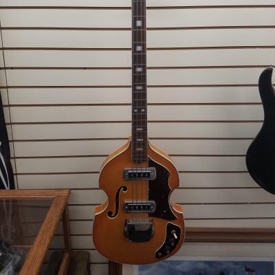 Teisco Prestige Bass Guitar - Wood for sale