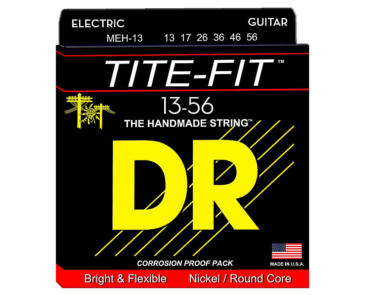 dr meh 13 tite fit electric guitar strings mega heavy reverb. Black Bedroom Furniture Sets. Home Design Ideas