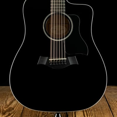 Taylor 250ce-BLK DLX - Black - Free Shipping