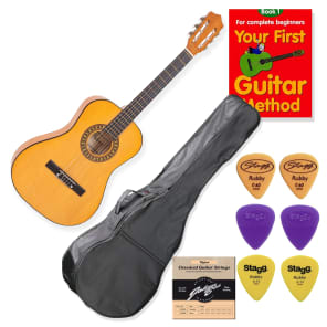 School Guitar Starter Pack 3/4 Size for sale