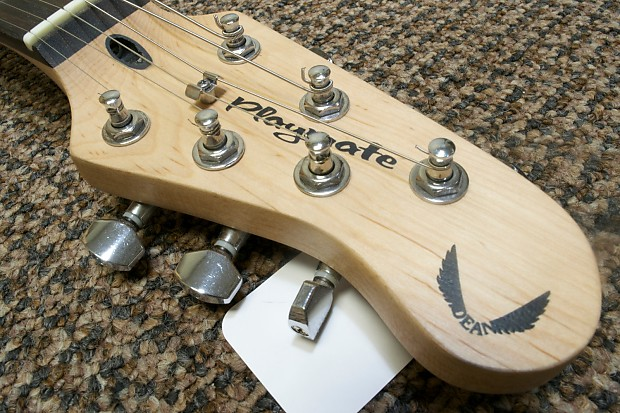 dean playmate hs fat strat white electric guitar reverb. Black Bedroom Furniture Sets. Home Design Ideas