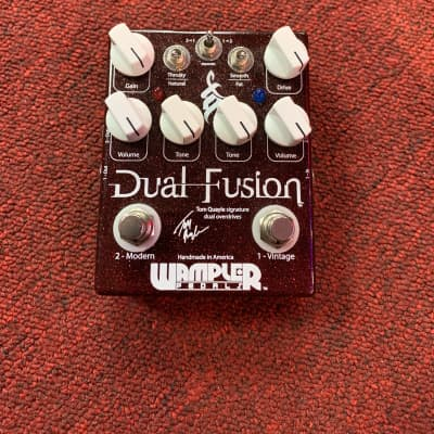 Wampler Dual Fusion Tom Quayle Signature Overdrive Pedal