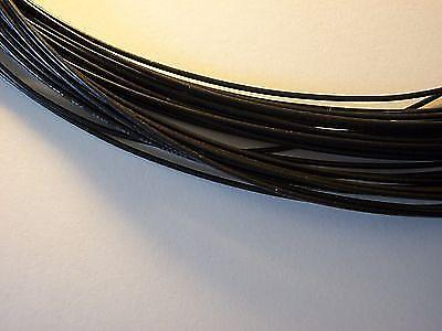 15 feet black 22 awg pvc coated stranded guitar wire 22 gauge reverb. Black Bedroom Furniture Sets. Home Design Ideas