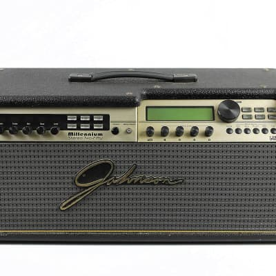 Johnson JM250H Millennium Stereo Two-Fifty 250 Head amp 1999 * Functioning, broken Volume knob for sale