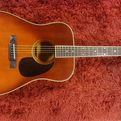 Terada Dreadnought 70ies Sunburst for sale