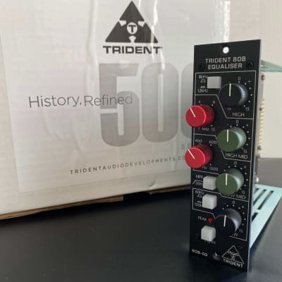 Trident 80B EQ 500 Series Equalizer Module