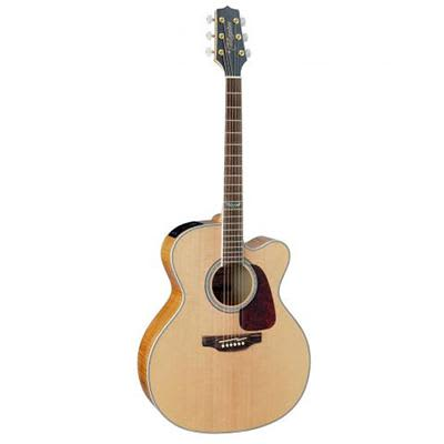 Takamine GJ72CE Flame Maple Jumbo Cutaway Natural Electro Acoustic Guitar for sale