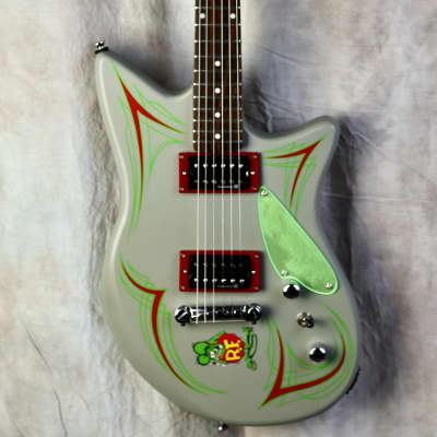 Lace Rat Fink Guitar 2002? Satin Grey for sale