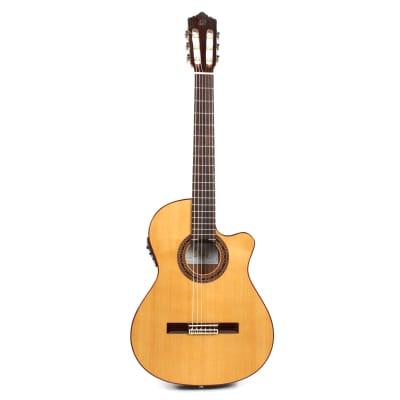 Perez 630 Cutaway Thin E1 guitare classique électro-acoustique for sale